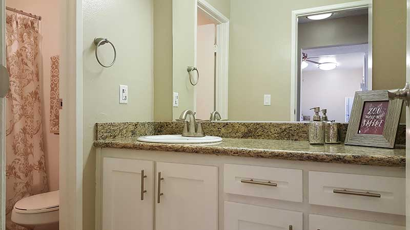Shadow Mountain Interior Bathroom Sink and Bathroom