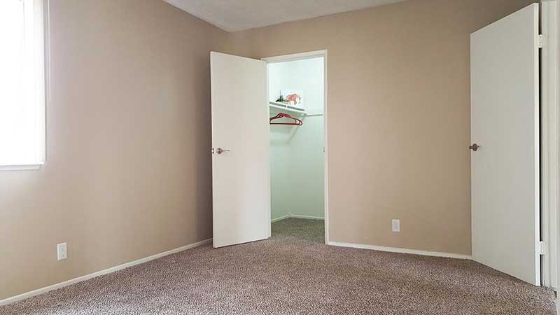Shadow Mountain Interior Bedroom and Walk-in Closet
